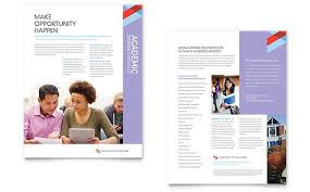 College Templates Community College Datasheet Template Design