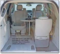 chrysler minivan interior