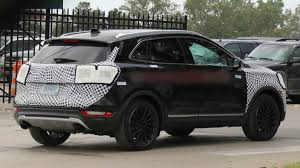 2018 lincoln mkc redesign. fine lincoln 2018lincolnmkcspyshotsrearview in 2018 lincoln mkc redesign