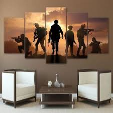 5 piece canvas prints. Fine Prints Image Is Loading 5PieceCanvasArtArmySoldiersSunsetWall With 5 Piece Canvas Prints H