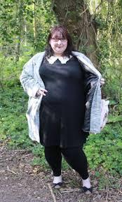 plus size wednesday addams costume new look inspire black crochet collar swing dress love leah
