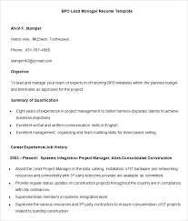 Resume Objectives Examples For Business Analyst | Krida.info