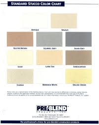 Brixment Color Chart Products Cava Building