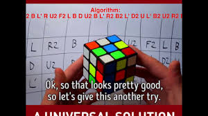 Universal Solution Of Rubiks Cube Any Srambled Rubiks Cube Can Be Solved Within 25 Moves