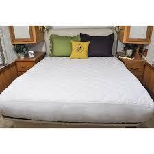 ab lifestyles short queen mattress pad usa made mattress cover for camper rv travel trailer mattresses size 60x75 com