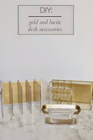 i purchased the business card holder and letter organizer at target and the multi purpose acrylic organizer at tj ma