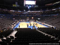 First Council Casino Concerts Seating Chart Chesapeake Energy Arena View From Lower Level 111 Vivid Seats