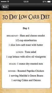 30 day low carb meal plan 30 day low carb diet meal plan on the app store