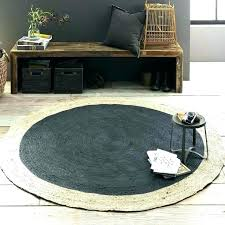 4 round braided rug circular jute foot rugs 6 x outdoor