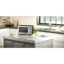 black matte compact oven countertop convection halogen recipes over