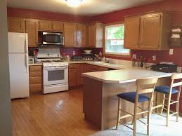 Kitchen Colours With Wood Cabinets