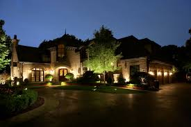 illuminate your house at night with very low energy use and increase your security with led exterior landscape lighting