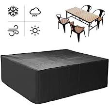patio furniture cover table and chair