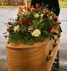 simple funeral flowers coffin flowers birmingham uk