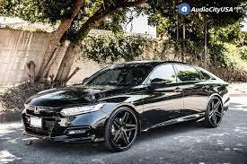 Check spelling or type a new query. 22 Lexani Wheels Ekko With Matte Black Rims For 2018 Honda Accord Sport Lexani Tires Audo City Usa Audio City Usa