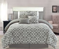 quilt sets luxury bedding quilt set with gray color white line shades in big and
