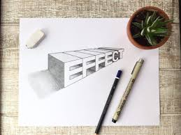 How To Draw Letters In A 2 Point Perspective 2019 Lettering Daily