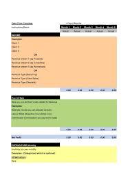 Cash Flow Statement Template Uk 40 Free Cash Flow Statement Templates Examples Template Lab