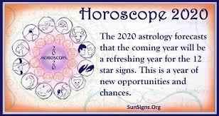 Zodiac Chart Test Horoscope 2020 Predictions For The 12 Zodiac Signs