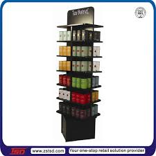 Tea Set Display Stand For Sale Tsdw100 Custom Retail Store Free Standing Tea Bag Display Rack 40