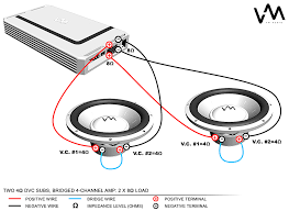 two dual voice coil subwoofer wiring diagram free vehicle wiring  ohm dual voice coil wiring diagram luxury stain kicker subwoofer new rh nicoh me 4 ohm wiring diagram wiring 2 4 ohm dual voice coil subs to 2 ohms