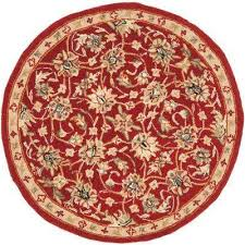 chelsea burgundyivory 3 ft x round area rug home depot round rugs t11 round