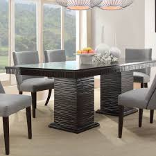 dining room piece set homelegance chicago pedestal in deep glamorous pc sets with china 7 piece dining room set l87