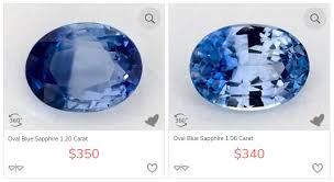 Sapphire Rating Chart Sapphire Prices