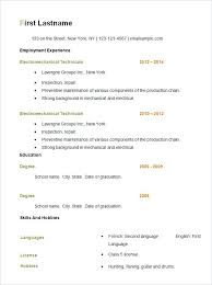 resume formats free download word format resume formats free to easy resume format free simple resume