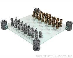 kingdom of the dragon glass chess set