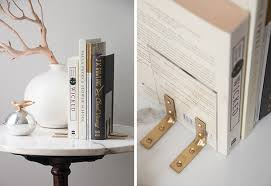 Clever D.I.Y. Bookends