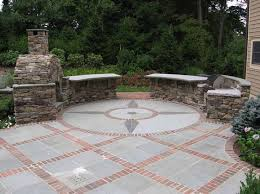 Paver Patio Designs Patterns Brick Flagstone Design Ideas Stone With