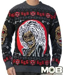 Iron Maiden Latest Band to Make Ugly Christmas Sweaters | MetalSucks