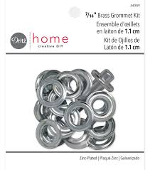 dritz home 0 44 u0022 metal grommet kit silver