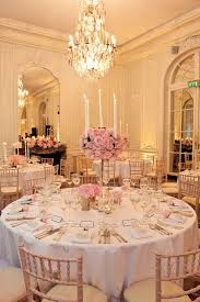 The French-style Reception Room Combined Pale Pink Hues And Soft Lighting.  Pinterest