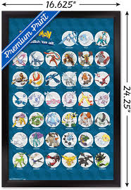 Wandbehänge Pokemon GO Legendary Game Characters FREE P+P CHOOSE YOUR SIZE  Pokemon Poster Möbel & Wohnen drukgreen.bt