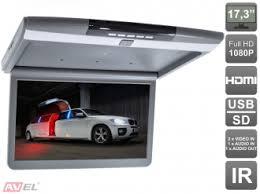 """<b>Автомобильный потолочный монитор</b> 17,3"""" со встроенным <b>FULL</b> ..."""