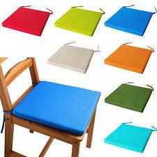chair cushions with ties. ITALIAN FABRIC Chair Cushions With Ties SEAT PADS Cushion Pads Kitchen GARDEN