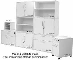 modern office credenza. Modern Office Structures Cherry U0026 White Modular Storage Credenza T