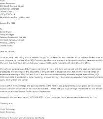 Opening Sentence Cover Letter For Resume Sample Registered Nurse