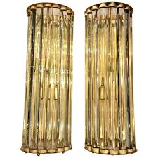 clear glass wall sconce pair of clear glass wall sconces with brass structure for clear clear glass wall sconce