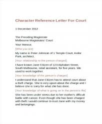 Sample Character Reference Letter For A Friend For