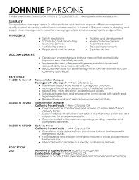Sample Objectives For Resumes Resume Directory