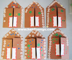 A Gingerbread House Card A Paper Plate Angel And The Gingerbread
