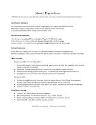 Strong Communication Skills Resume Examples. resume templates ...