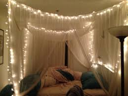 Make a Bed Canopy with Lights : Girls Bed Canopy with Lights ...