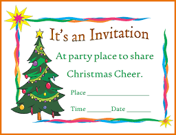 Christmas Program Templates Great Free Christmas Invitation Templates Microsoft Word