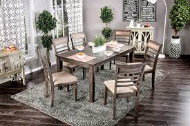 Taylah Dining Set By Furniture Of America CMTPK A Bedder - San diego dining room furniture
