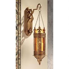 Design Toscano Les Champs Toulon 1 Light Armed Sconce Kinnaird Castle Hanging Pendant Wall Sconce Products