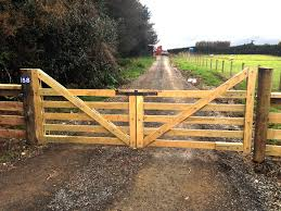 wooden farm fence. GOFENCE® Timber Gates Wooden Farm Fence C